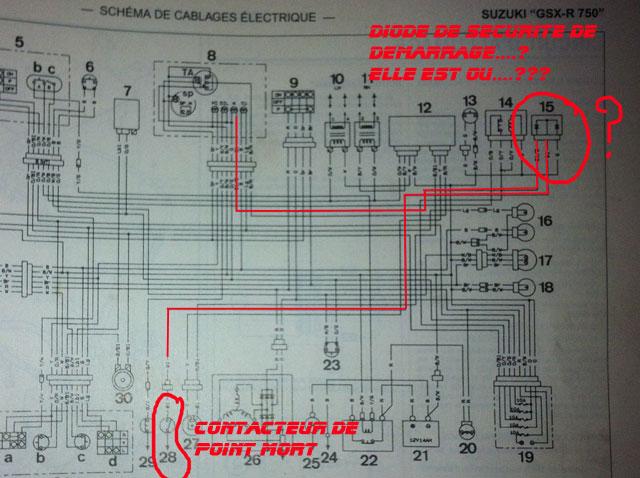 Schema Electrique 600 Bandit