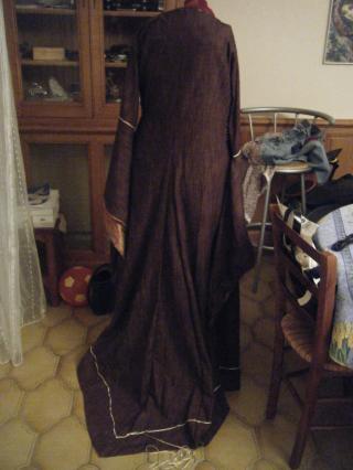 [XIIème] bliaut inspiré d'Aliénor d'Aquitaine 008-363032d